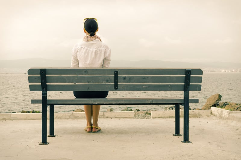 fear of being alone after divorce
