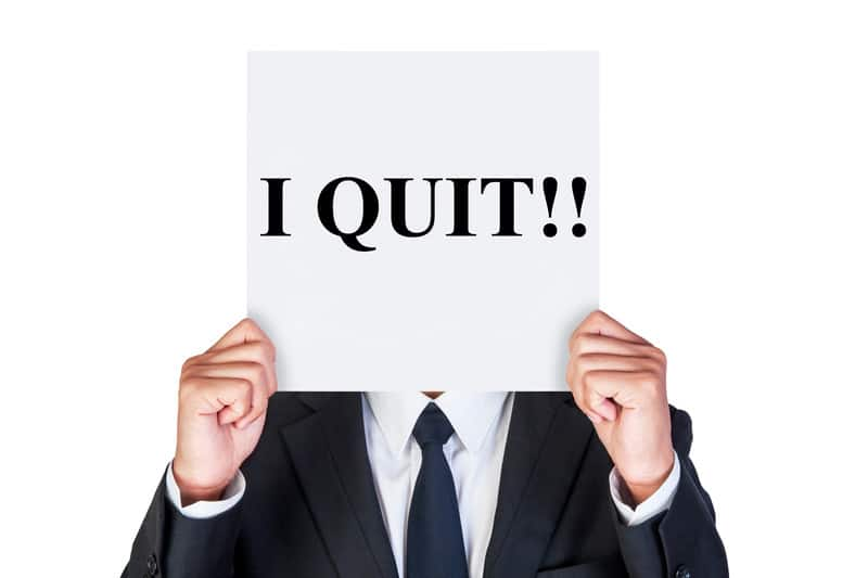 spouse voluntarily quits his job during divorce
